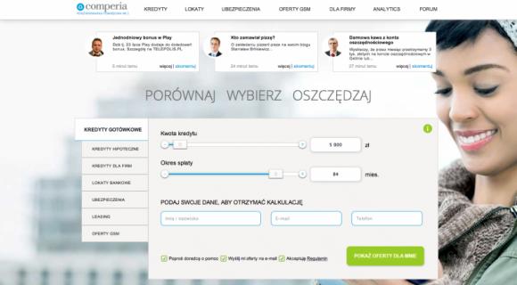 Finanse na żywo w porównywarce finansowej Comperia.pl LIFESTYLE, Finanse - Finanse na żywo w Comperia.pl to baza porad, wiadomości i skarbnica wiedzy, która pomoże zaoszczędzić czas i pieniądze każdemu internaucie.