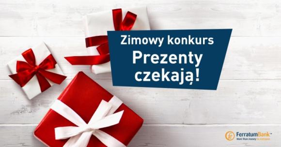 """Zimowy Konkurs Ferratum Bank LIFESTYLE, Finanse - Ferratum Bank zorganizował dla swoich Klientów dodatkową atrakcję – Zimowy Konkurs. Aby zdobyć wyjątkową nagrodę wystarczy w ciekawy sposób odpowiedzieć na pytanie: """"Jaki jest Twój wymarzony prezent choinkowy"""". Promocja trwa do 5 grudnia 2016 r."""