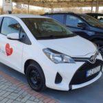 Toyota Financial Services przekazuje samochody dla szpitali zakaźnych